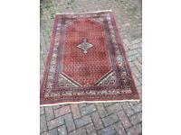 Red Indian carpet