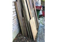 Free assortment of timber