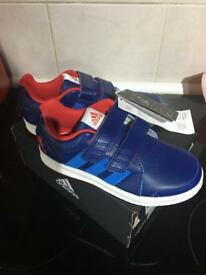Brand new boys Adidas trainers size 12.5