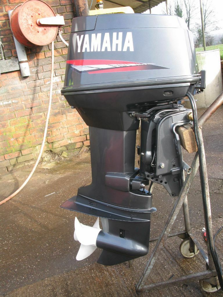 Yamaha 60 hp outboard 2 stroke long shaft remote boat for 10 hp outboard jet motor
