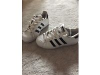 Boys size 3 all star adidas trainers