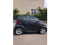 Black Smart Car. 2012 plate. 12 month MOT. 46,000 miles. Very good condition. £3450