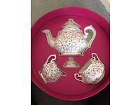 Royal Albert Confetti Rose Teapot