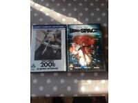 Two Space DVDs