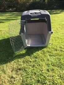 Dog air transport kennel