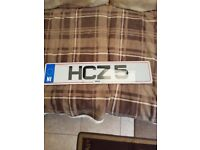 cherished number plates hcz 5 and mhz 565 on retention certificates