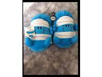New with tags , mr men slippers, adult size 7-10