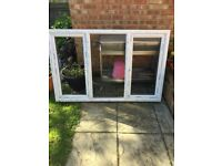 PVC windows loft set