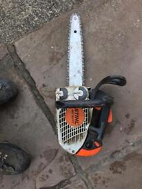 Stihl ms 150 used chainsaw
