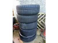 Ford Mondeo 17 inch Alloys and centre caps x5