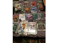 374 Comics Marvel and DC