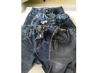 Size 8 boys' jeans - five pair