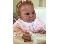 Reborn baby doll Lizzy limited edition