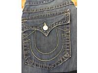 True Religion Jeans Straight Authentic £40