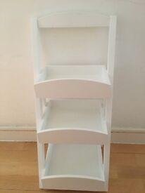 Storage unit/bedside/coffee living room tier shelf