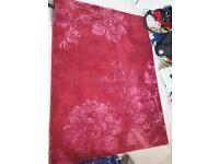 Rug Laura Ashley Claverton, cranberry colour
