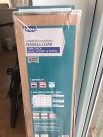 Brand new Wikes Navelli Oak laminate