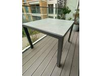 John Lewis Miami garden Table - perfect as new condition