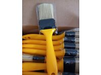 """36 x Panclub 1.5"""" paint brushes Never Lose Bristles for Paint, Glues, Stains"""