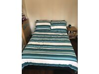 Double bed base only 6 months old with medium firm mattress. Buy separate or together. £75