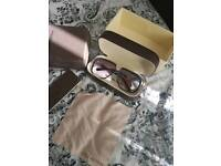 LV sunglasses with box and extras