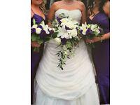 Ronald Joyce Wedding Dress Size uk14