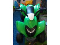 Kids battery charable quad
