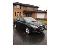 Ford Focus 1-8 zetec new shape 08 reg £2995