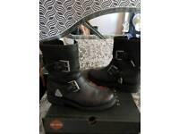 Harley davidson biker boots 10 new
