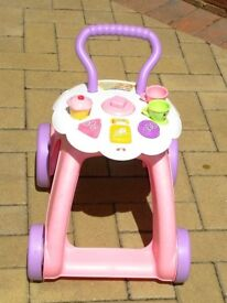 2 in 1 fisher Price Baby walker and activity centre