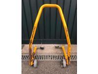Motor cycle paddock stand