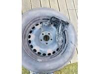 Tyre whit rim 215/60/R16
