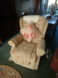 Matching Sofa and Armchair in excellent condition