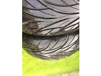 2 part worn 215/45/17r tyres