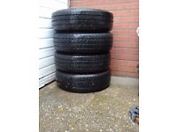 Mercedes vito tyre with steel wheels