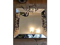 Baroque mirror £25 Each mirror