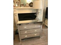 Mirrored Venetian chest of drawers new bedroom storage