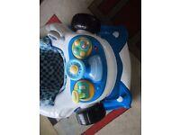 racing car baby walker