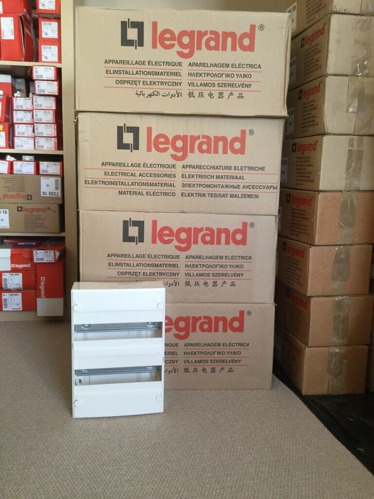 £430k worth of new electrical fittings stock for online business opportunity