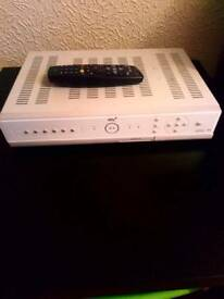 Sk+ box with remote
