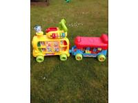 VTech 'Push & Ride Along Alphabet Train' in excellent condition