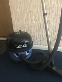 Henry hoover vacuum with free cleaner bags