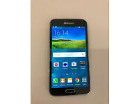 SAMSUNG S5 16GB AS NEW UNLOCKED WITH RECEIPT AND WARRANTY