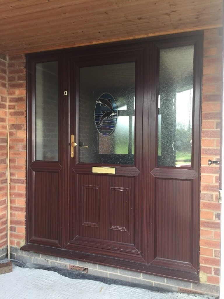 Upvc Brown Front Door In Upminster London Gumtree
