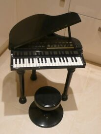 Children's Grand Piano - Black