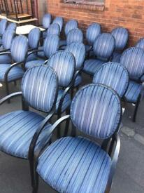 Banqueting chairs 30 available