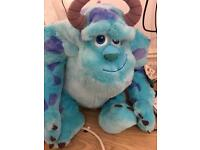 Monsters inc sulley soft toy