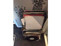 124 x drum and bass vinyl