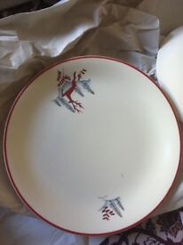 Crown Devon side plates
