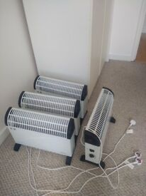 almost new 4 heaters for sale .been used for 1 week. u can buy only one or all of them